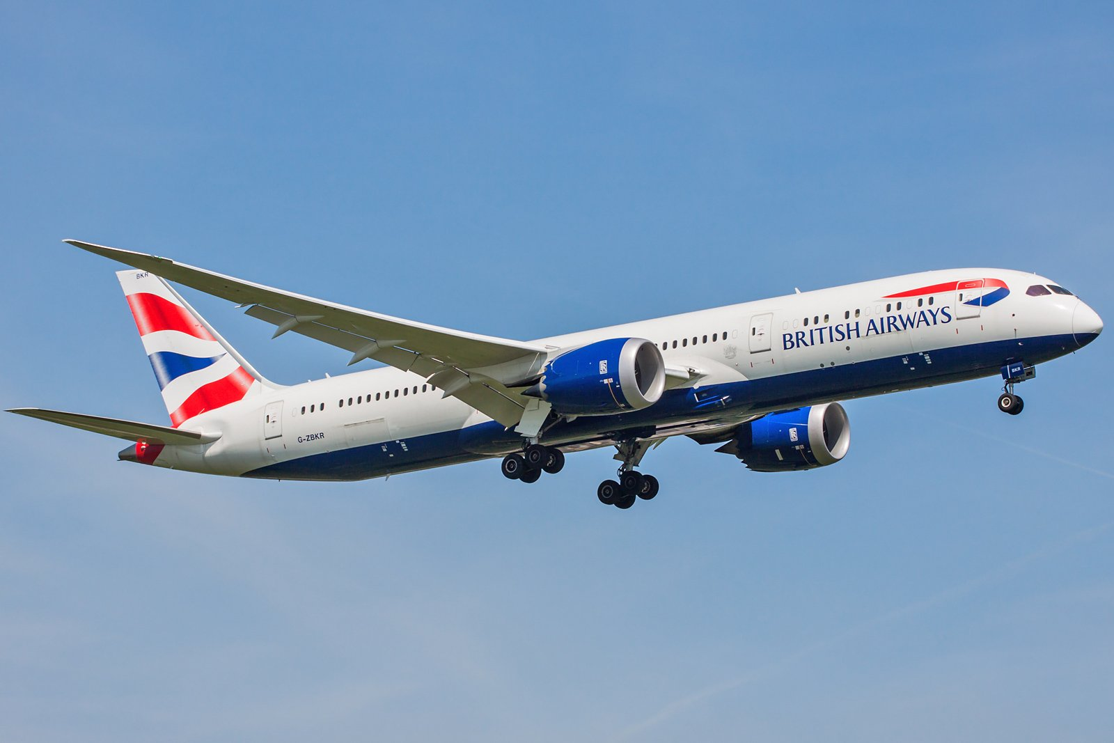 British Airways Boeing 787-9 Dreamliner G-ZBKR