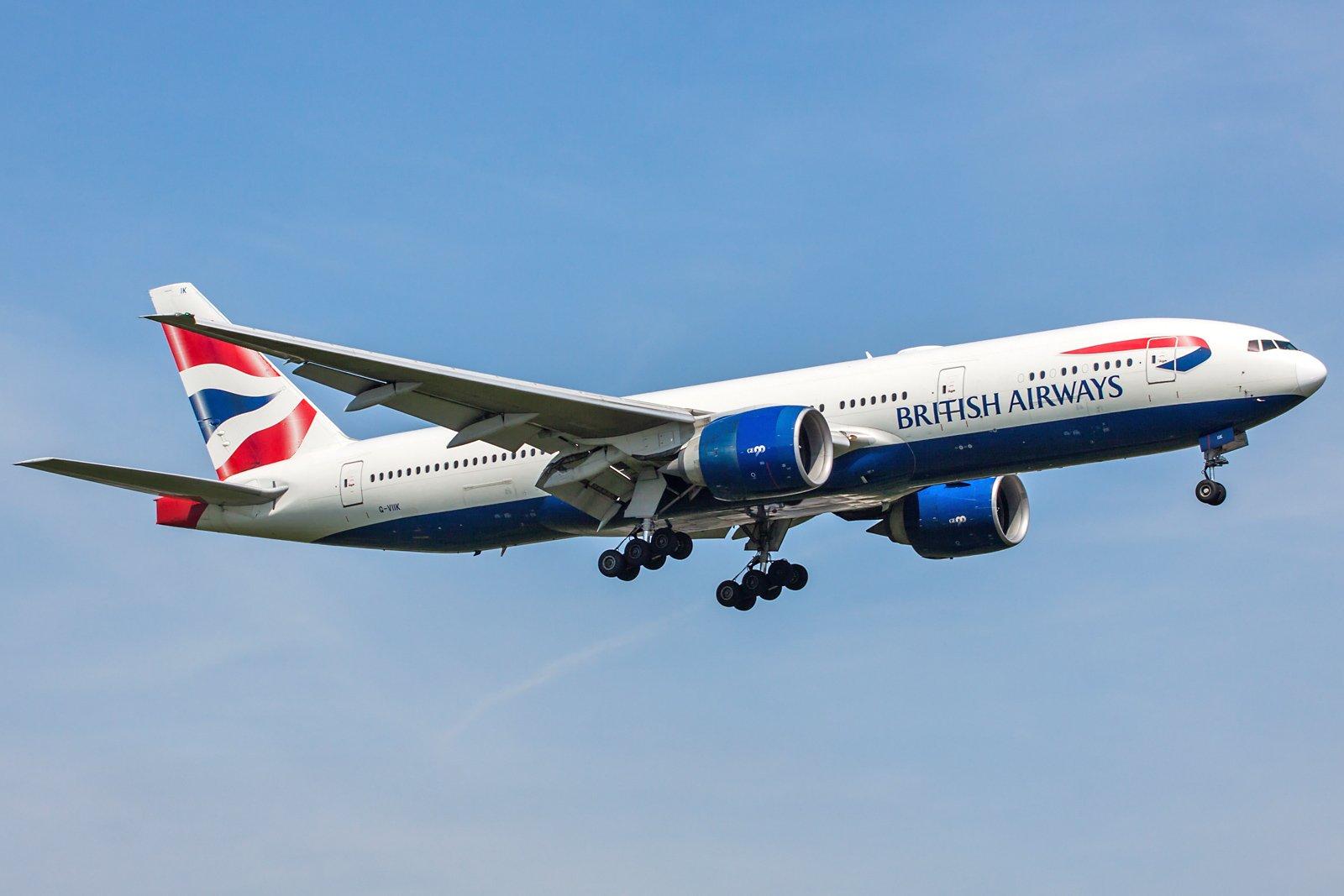 British Airways Boeing 777-236(ER) G-VIIK
