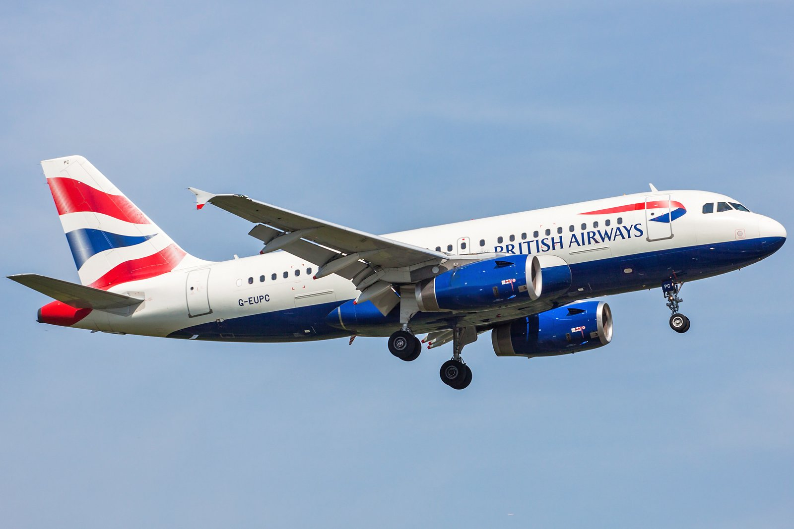 British Airways Airbus A319-131 G-EUPC