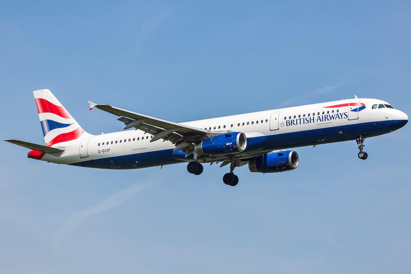 British Airways Airbus A321-231 G-EUXF