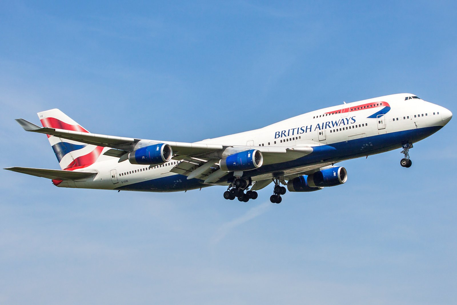 British Airways Boeing 747-436 G-CIVE
