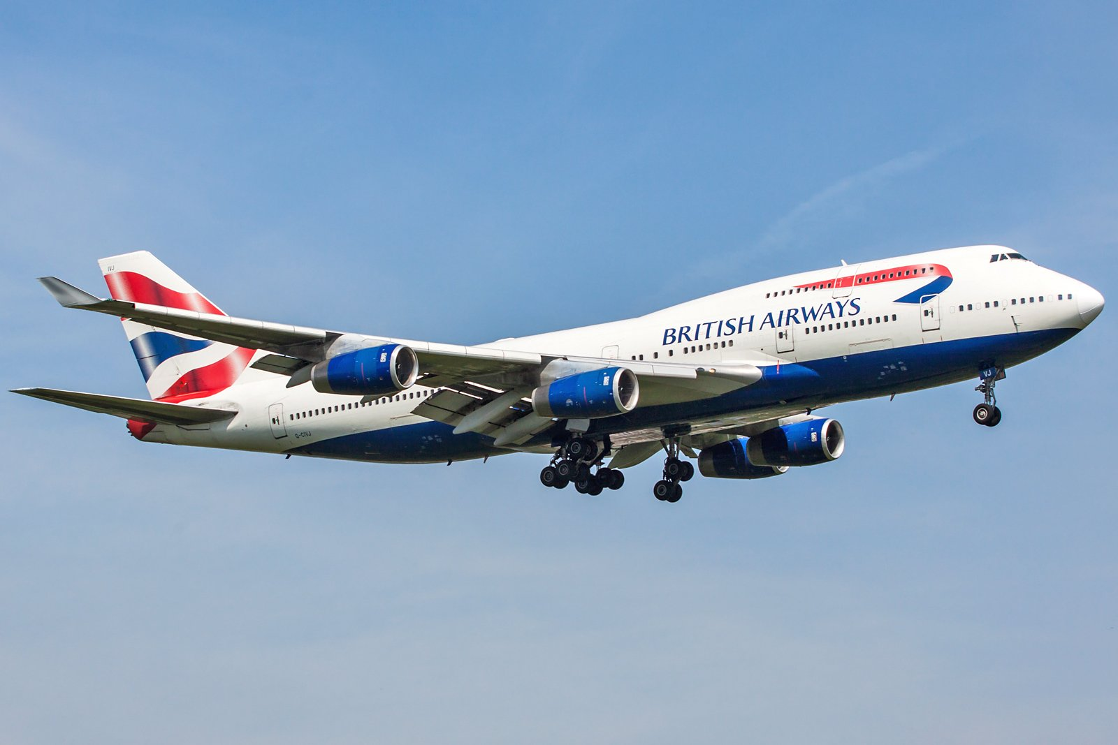 British Airways Boeing 747-436 G-CIVJ