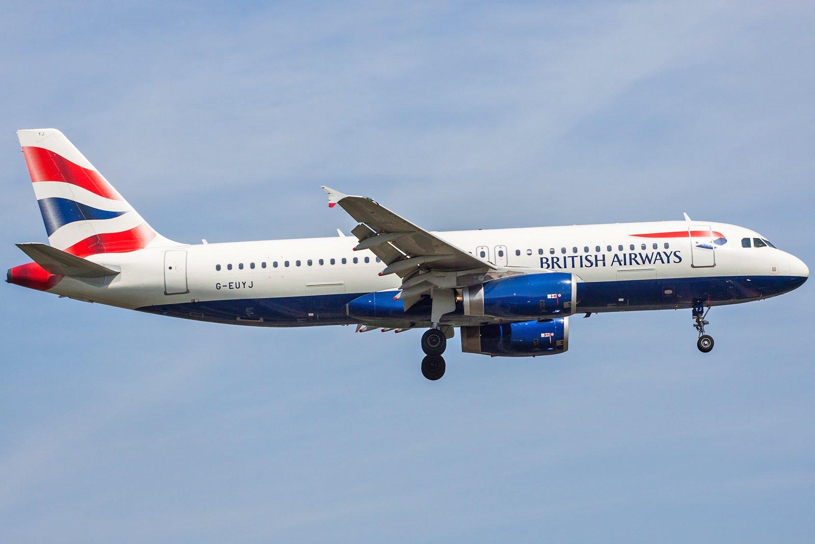 British Airways Airbus A320-232 G-EUYJ