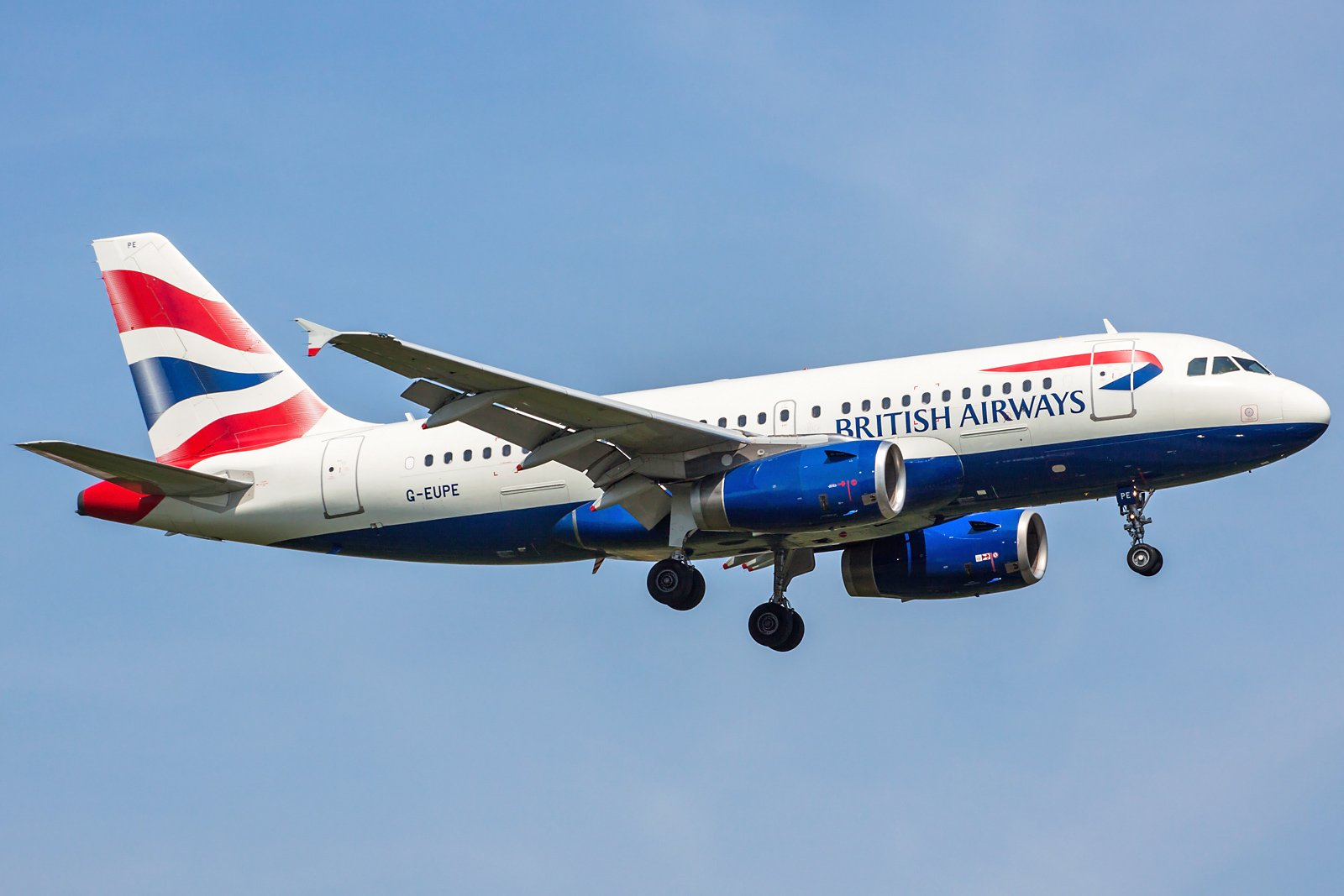 British Airways Airbus A319-131 G-EUPE