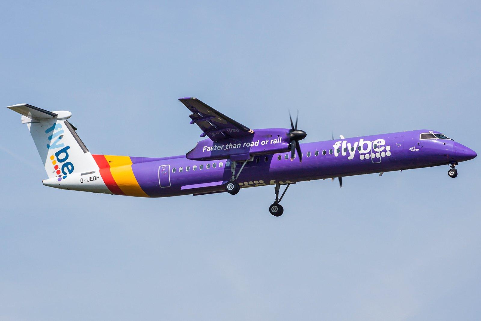 Flybe De Havilland Canada DHC-8-402Q Dash 8 G-JEDP