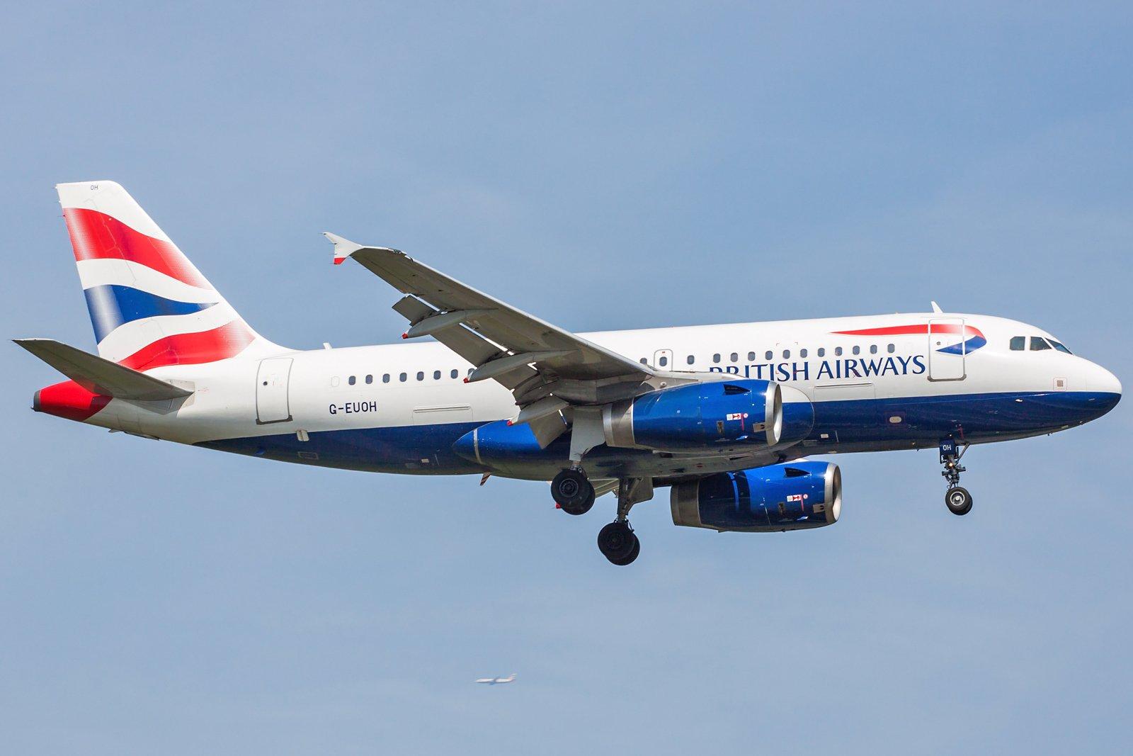 British Airways Airbus A319-131 G-EUOH