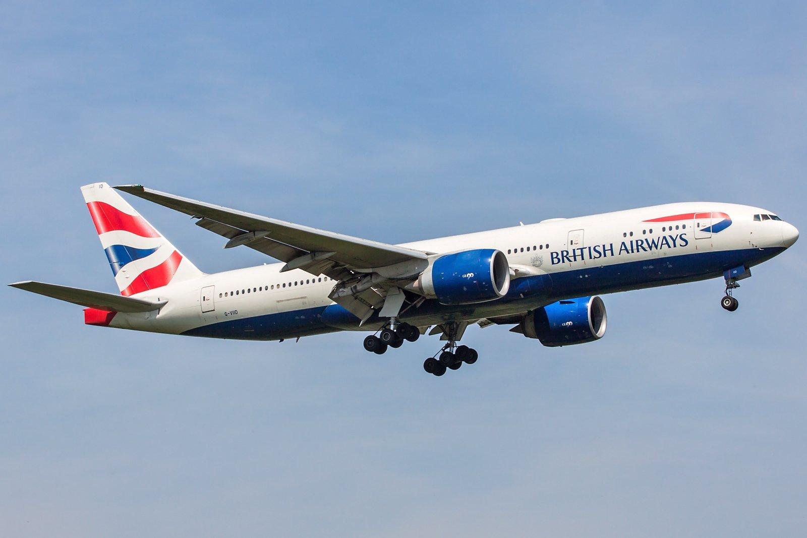 British Airways Boeing 777-236(ER) G-VIID