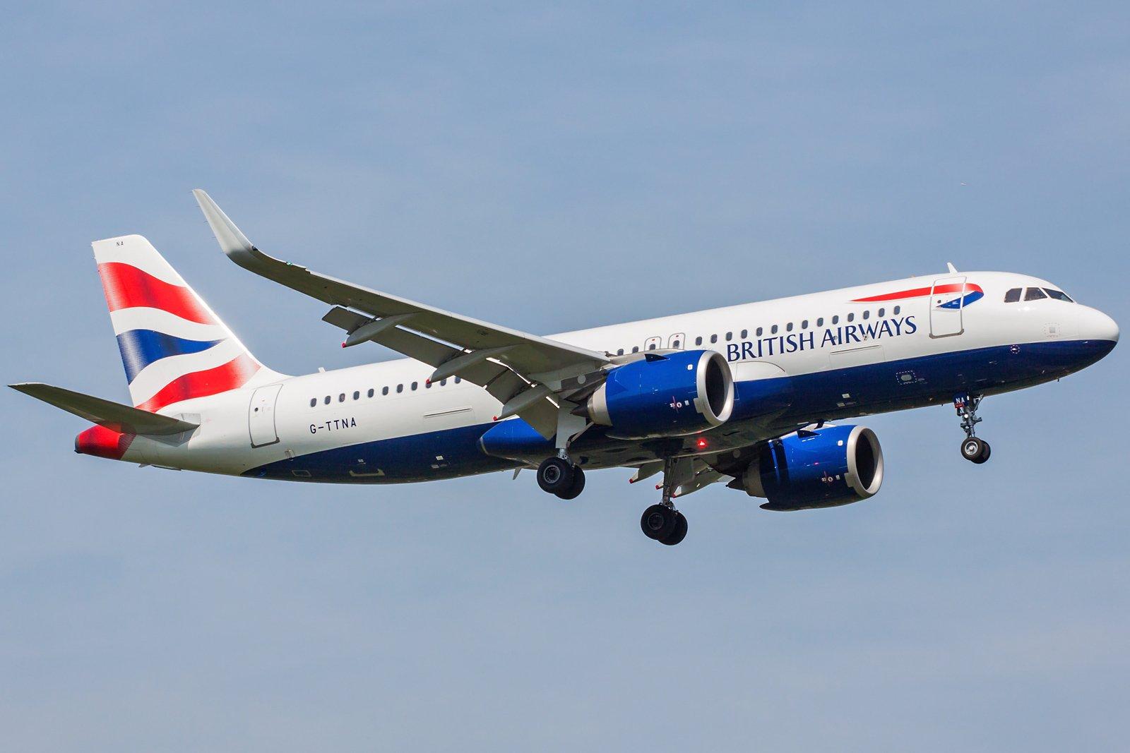 British Airways Airbus A320-251N G-TTNA