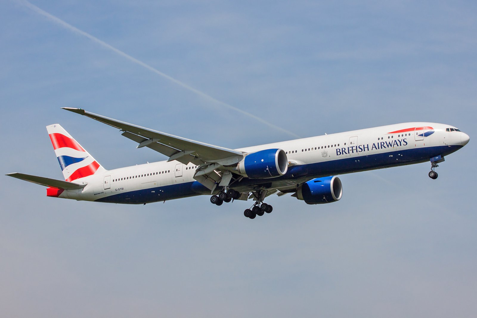 British Airways Boeing 777-336(ER) G-STBI