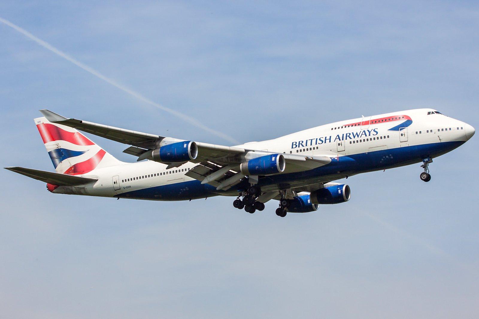 British Airways Boeing 747-436 G-CIVH