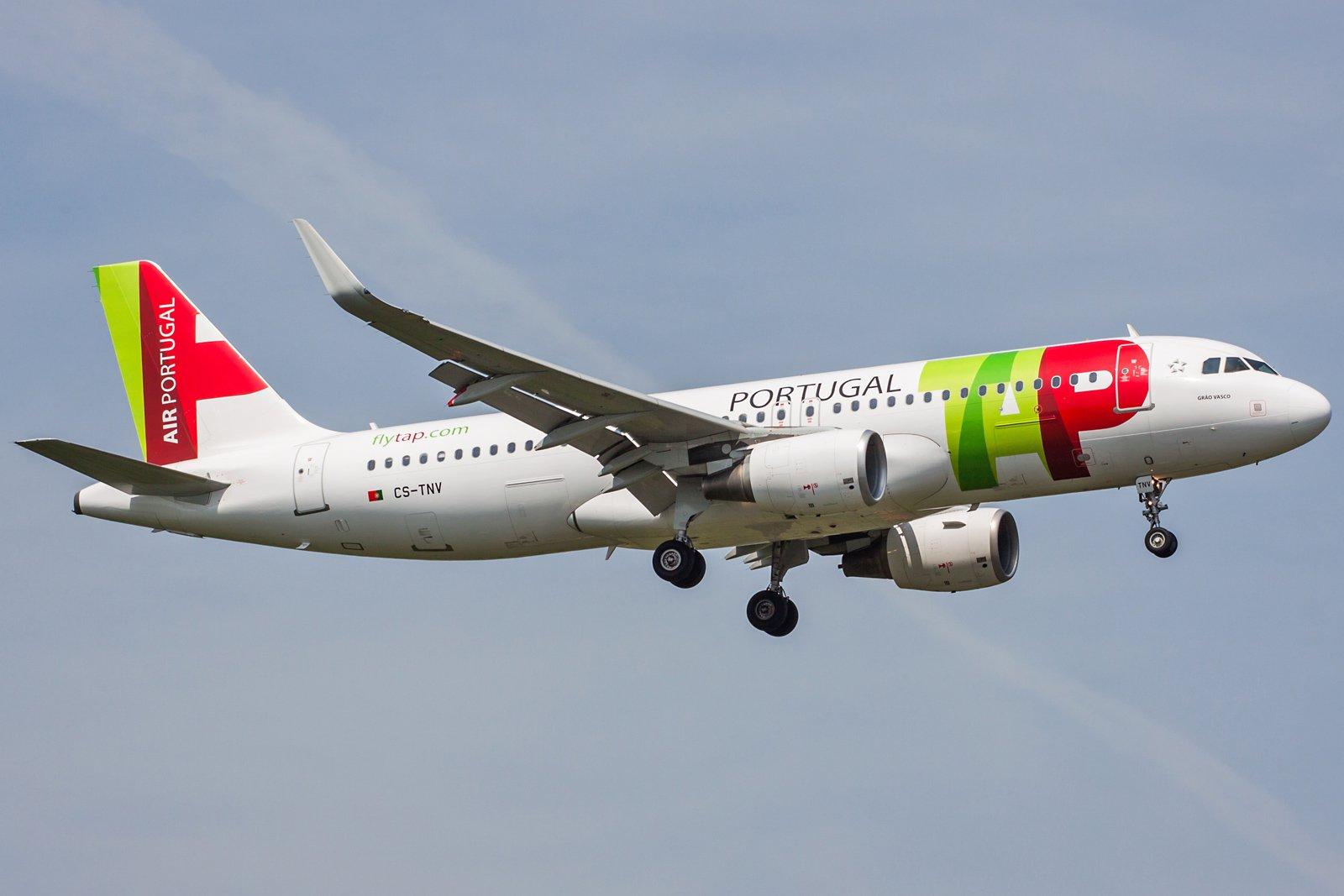 TAP - Air Portugal Airbus A320-214(WL) CS-TNV