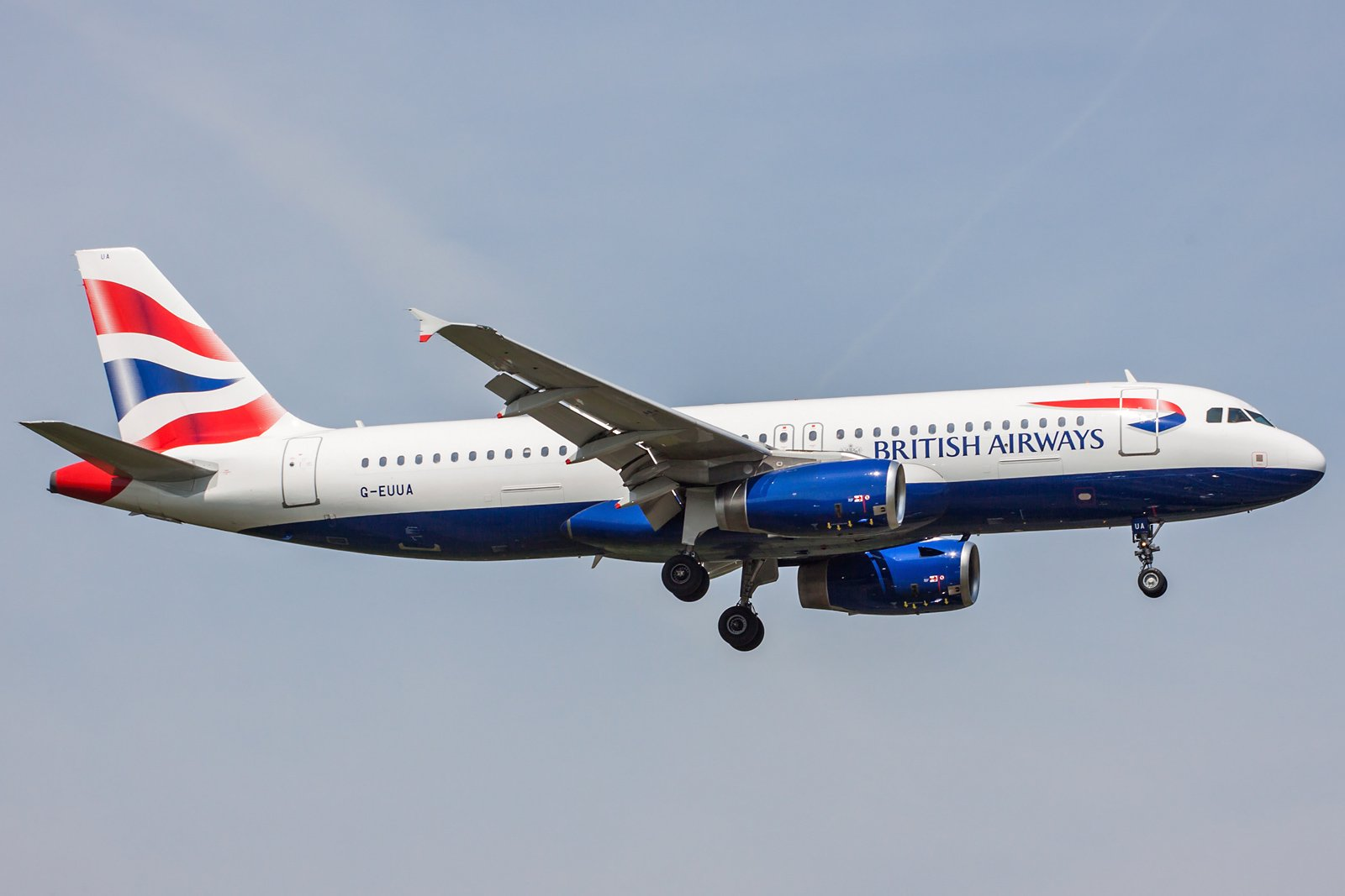 British Airways Airbus A320-232 G-EUUA