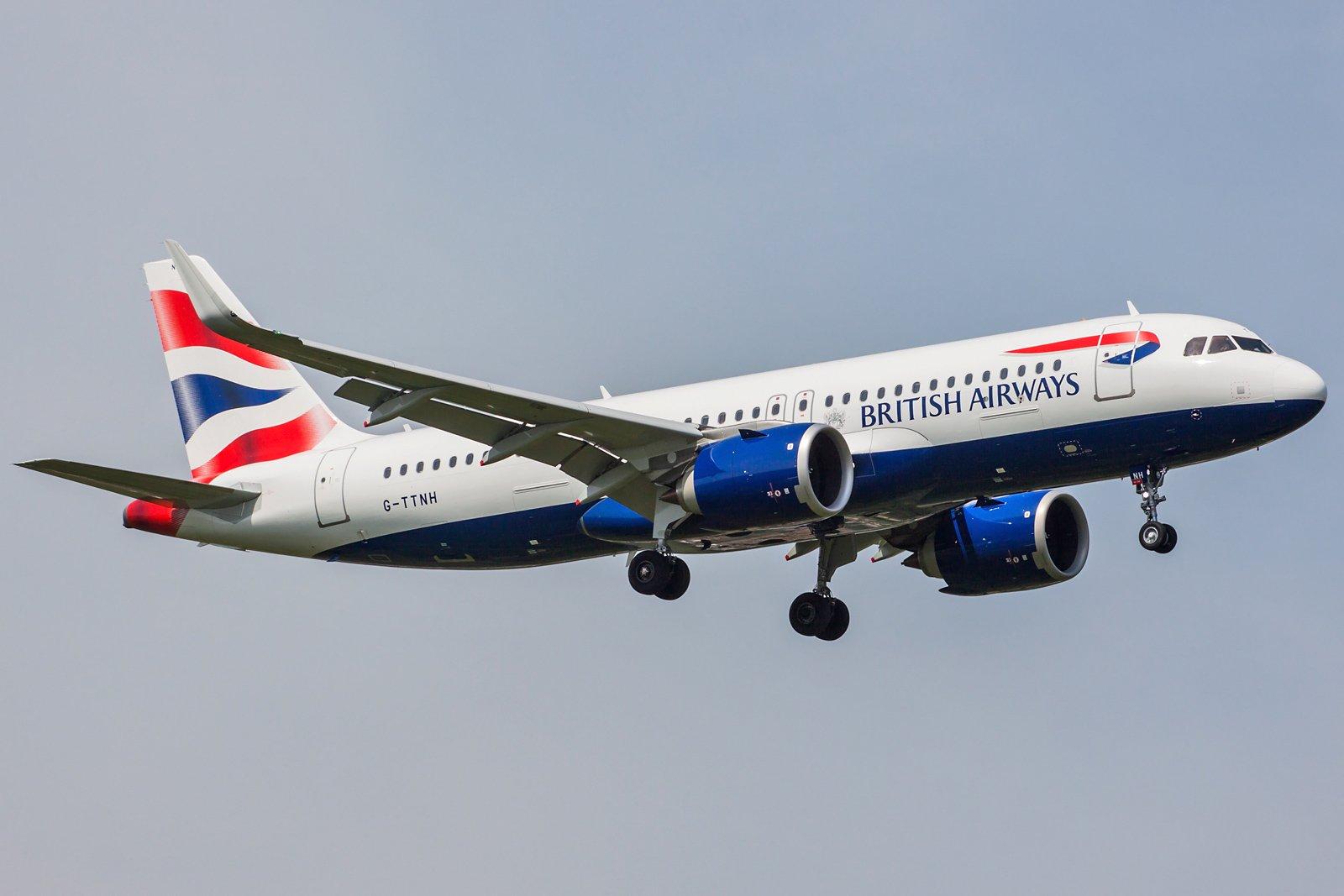 British Airways Airbus A320-251N G-TTNH