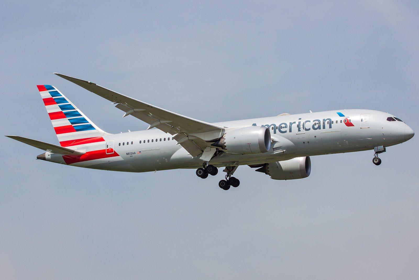 American Airlines Boeing 787-8 Dreamliner N812AA