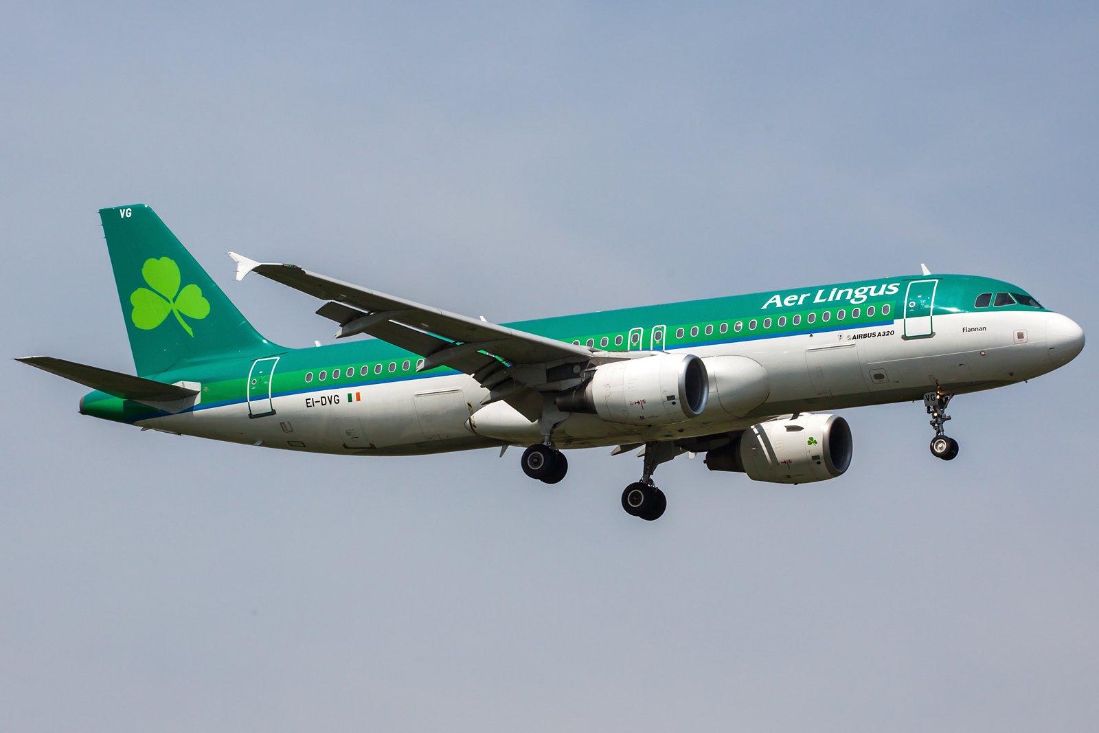 Aer Lingus Airbus A320-214 EI-DVG