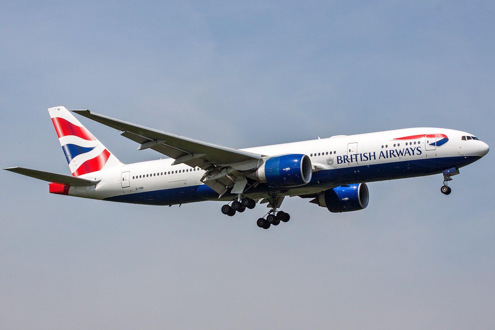 British Airways Boeing 777-236(ER) G-VIIH