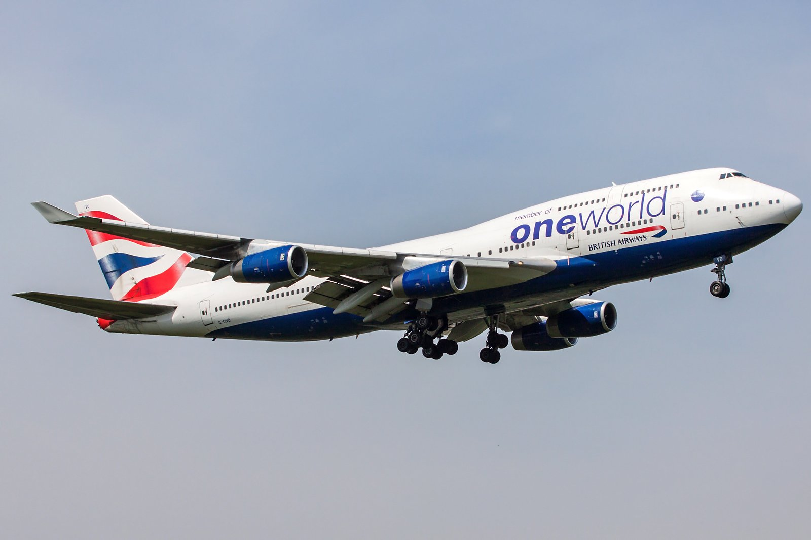 British Airways Boeing 747-436 G-CIVD