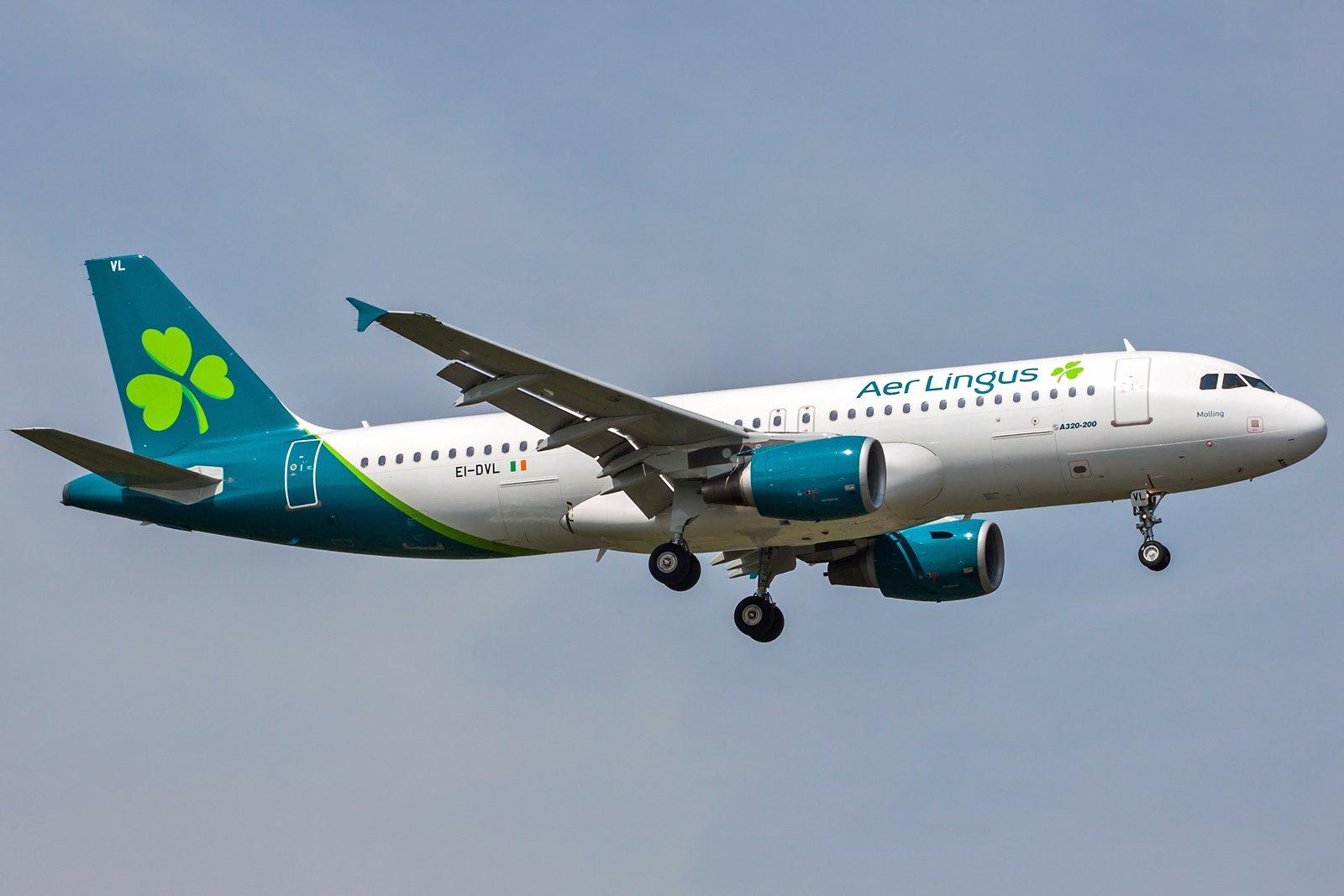 Aer Lingus Airbus A320-214 EI-DVL