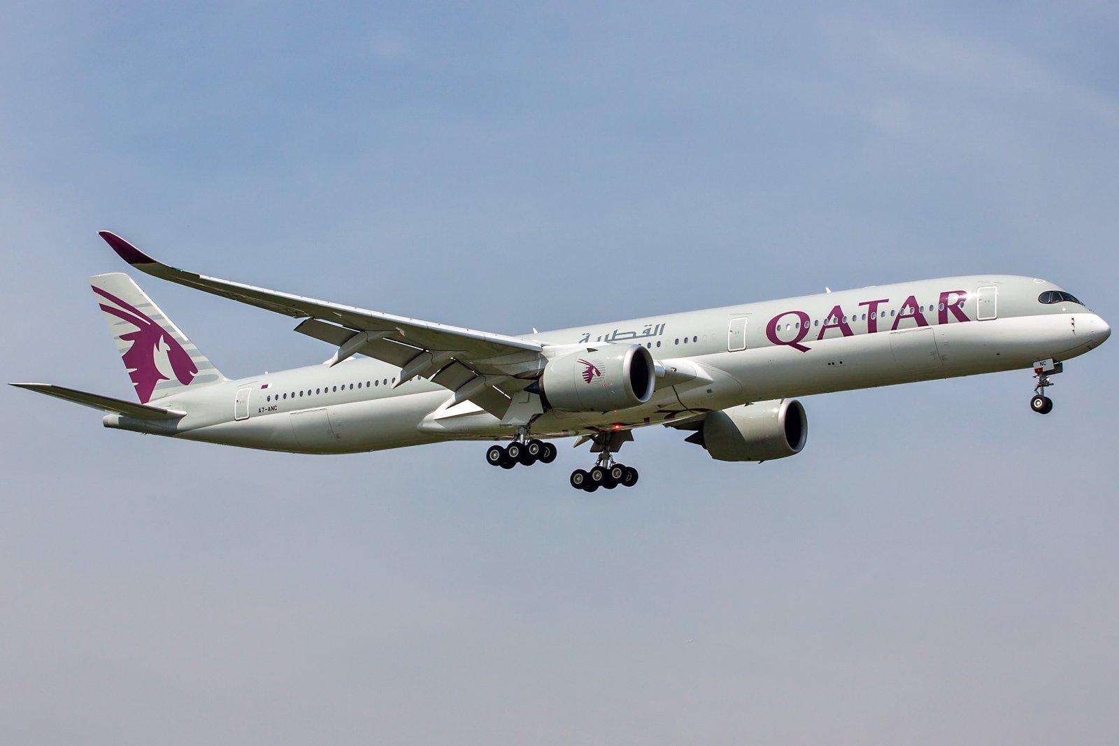 Qatar Airways Airbus A350-1041 A7-ANC
