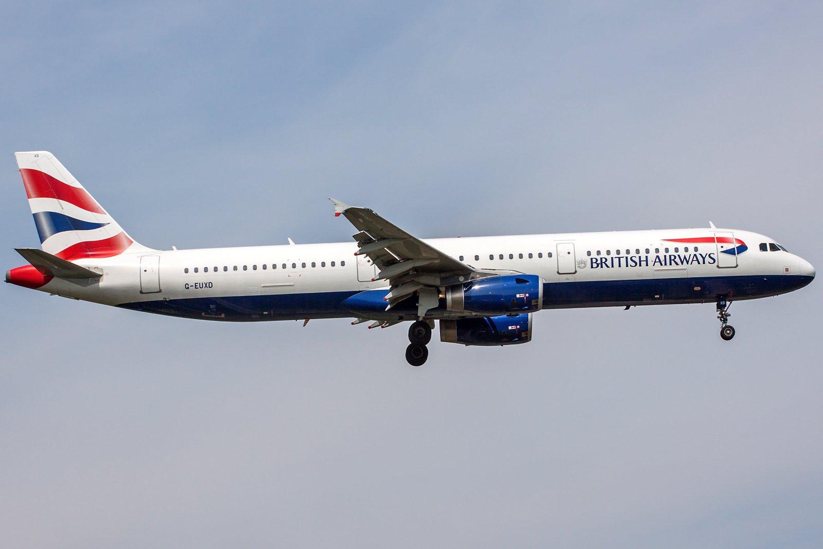 British Airways Airbus A321-231 G-EUXD