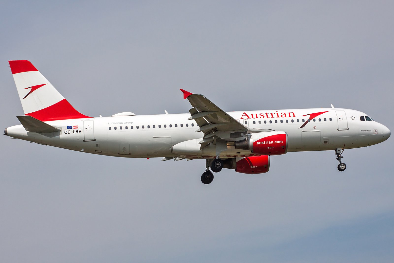 Austrian Airlines Airbus A320-214 OE-LBR