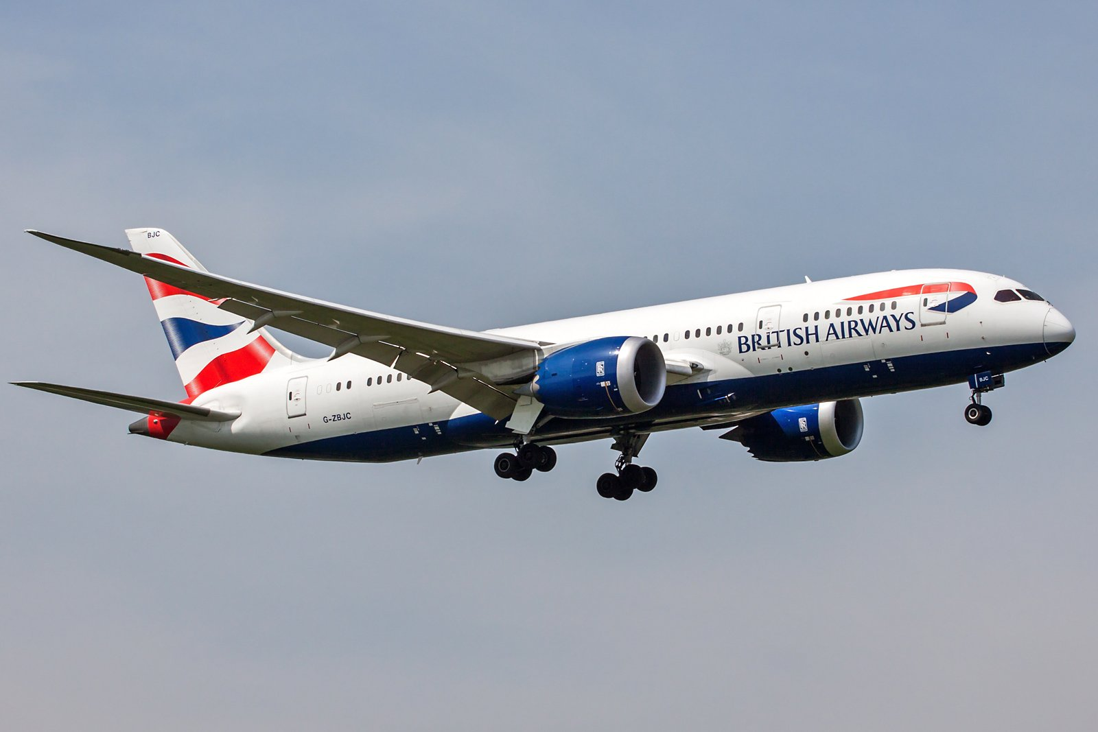 British Airways Boeing 787-8 Dreamliner G-ZBJC