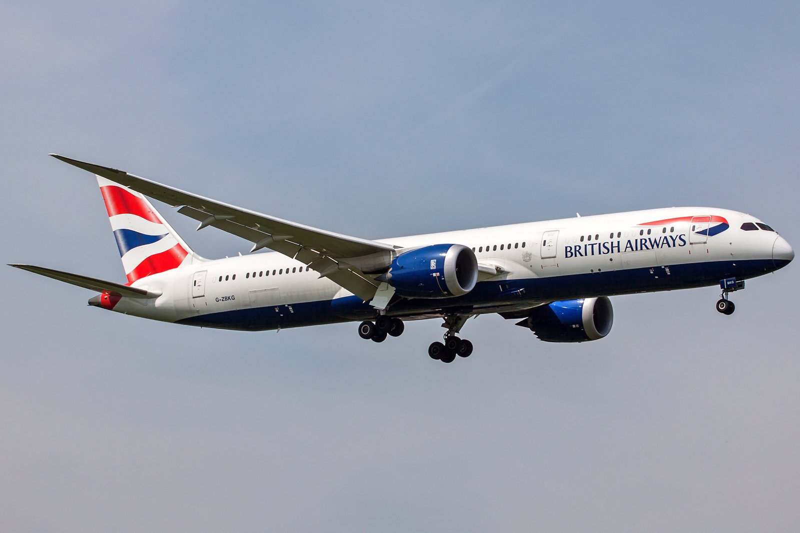 British Airways Boeing 787-9 Dreamliner G-ZBKG