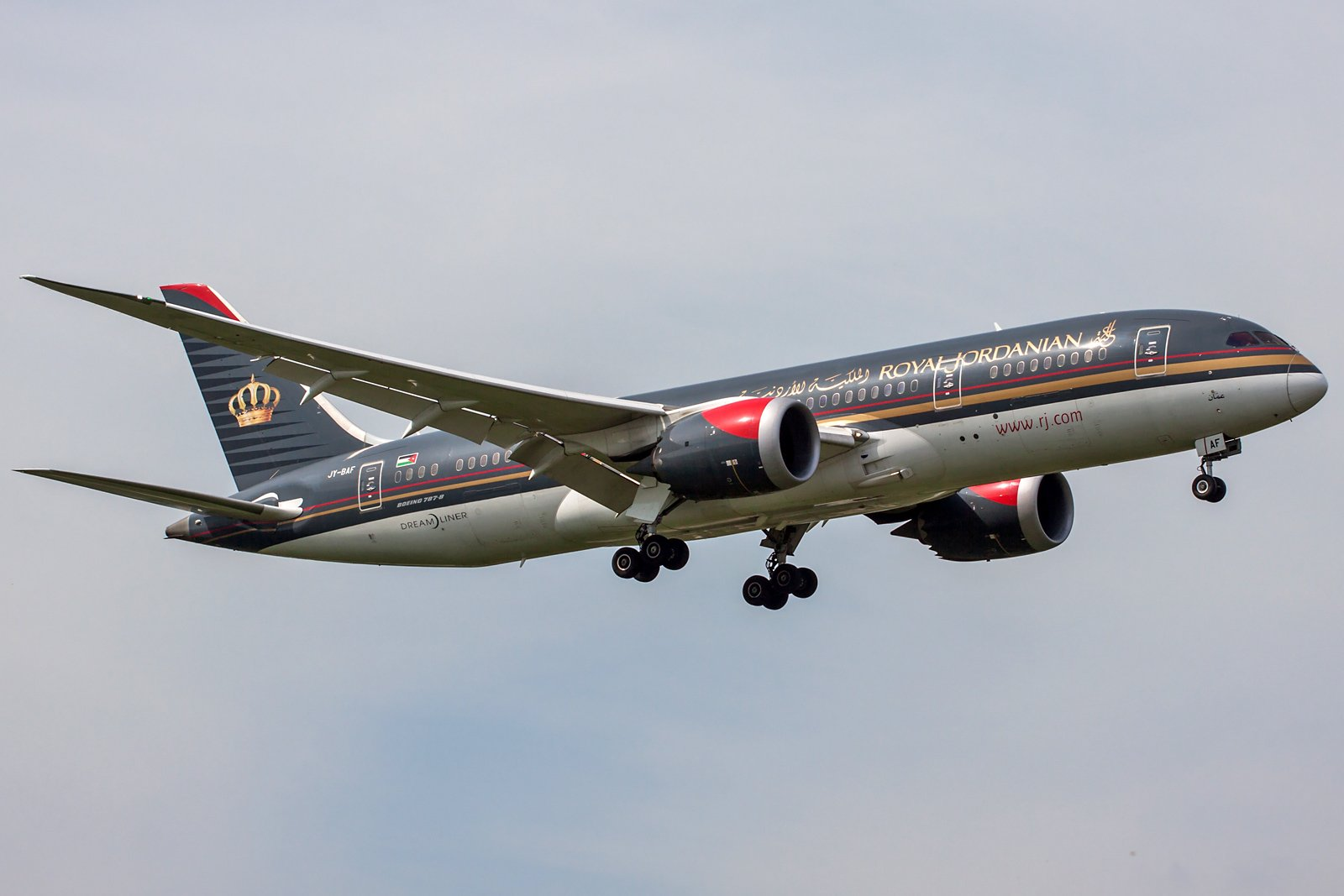 Royal Jordanian Boeing 787-8 Dreamliner JY-BAF