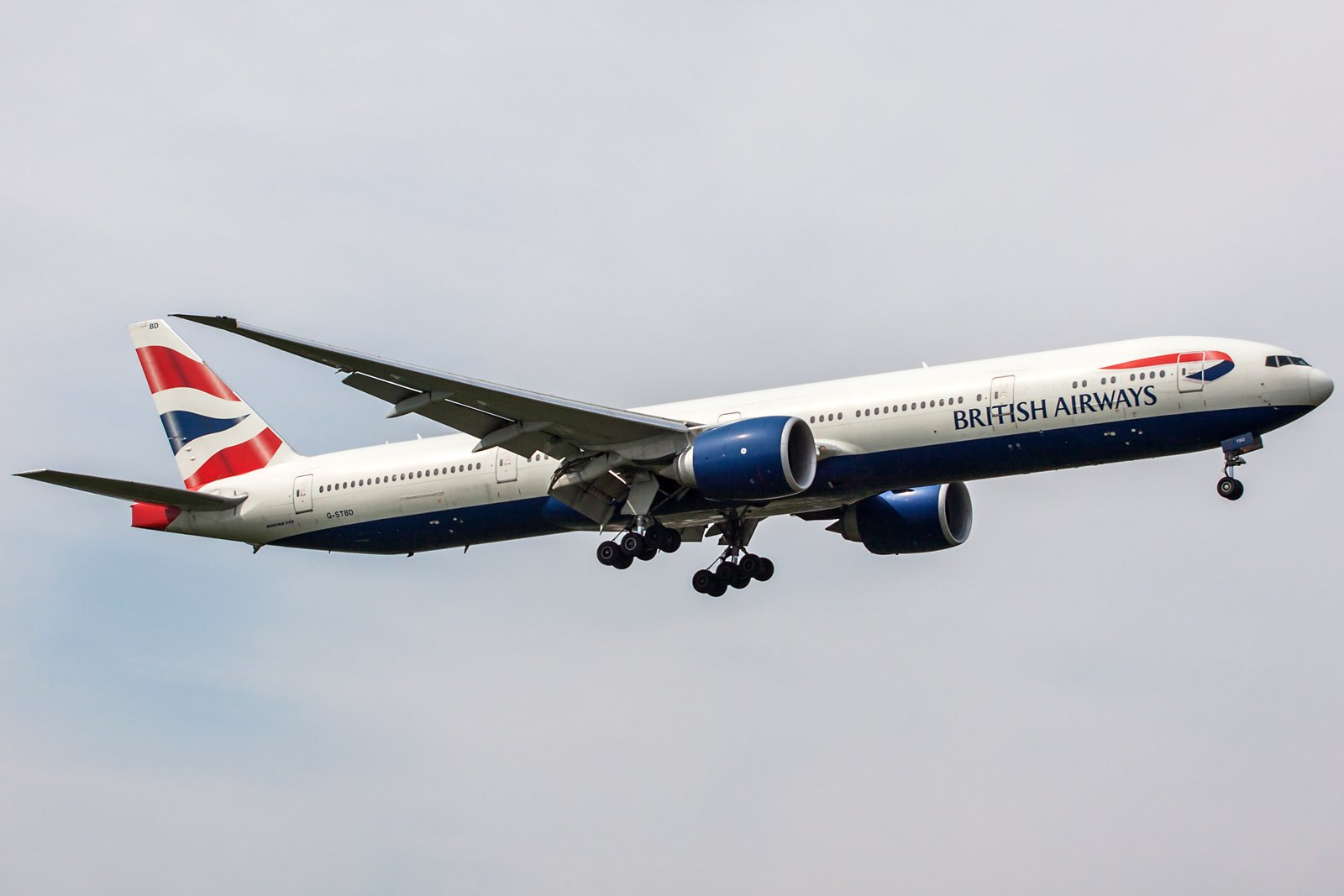British Airways Boeing 777-36N(ER) G-STBD