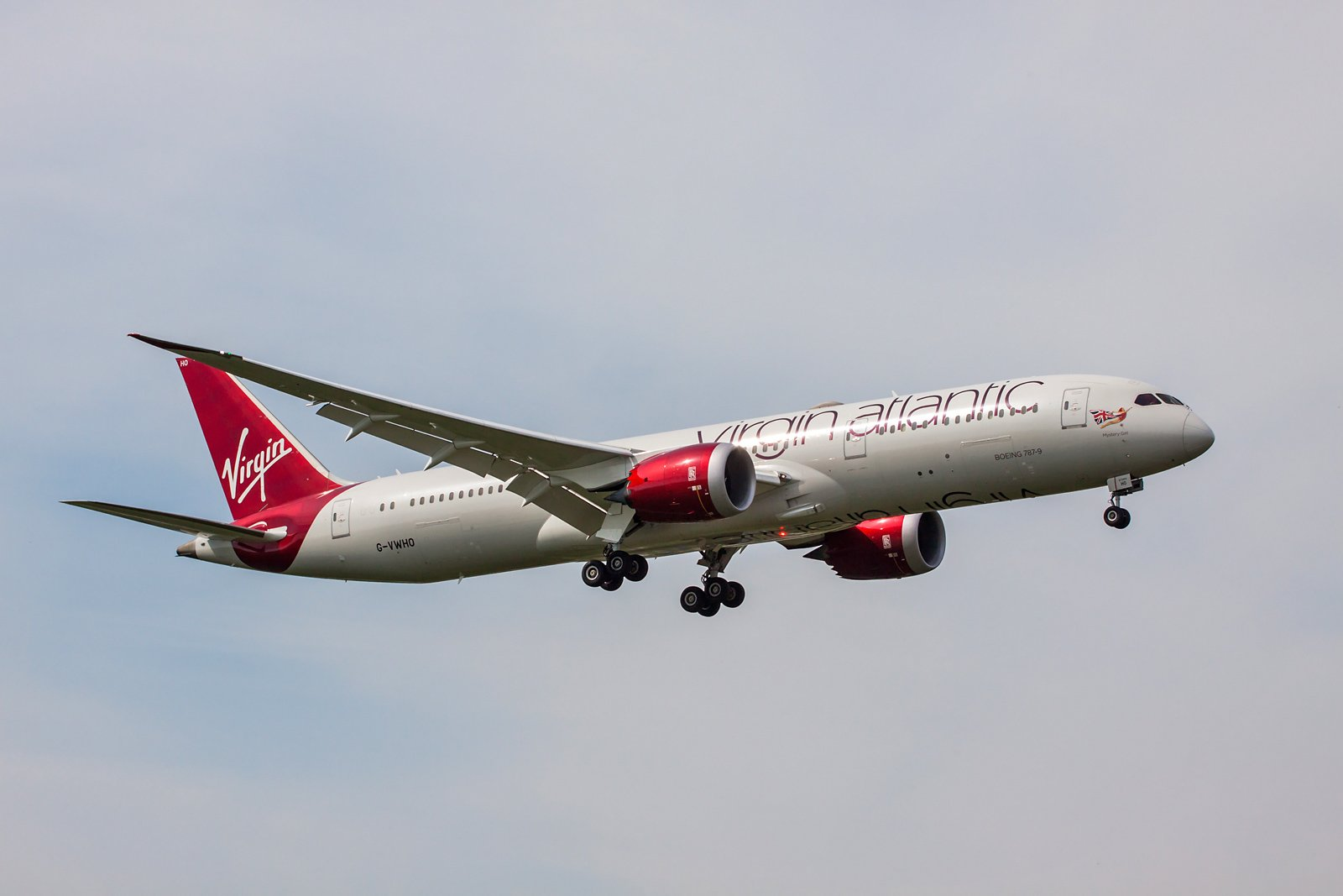 Virgin Atlantic Airways Boeing 787-9 Dreamliner G-VWHO