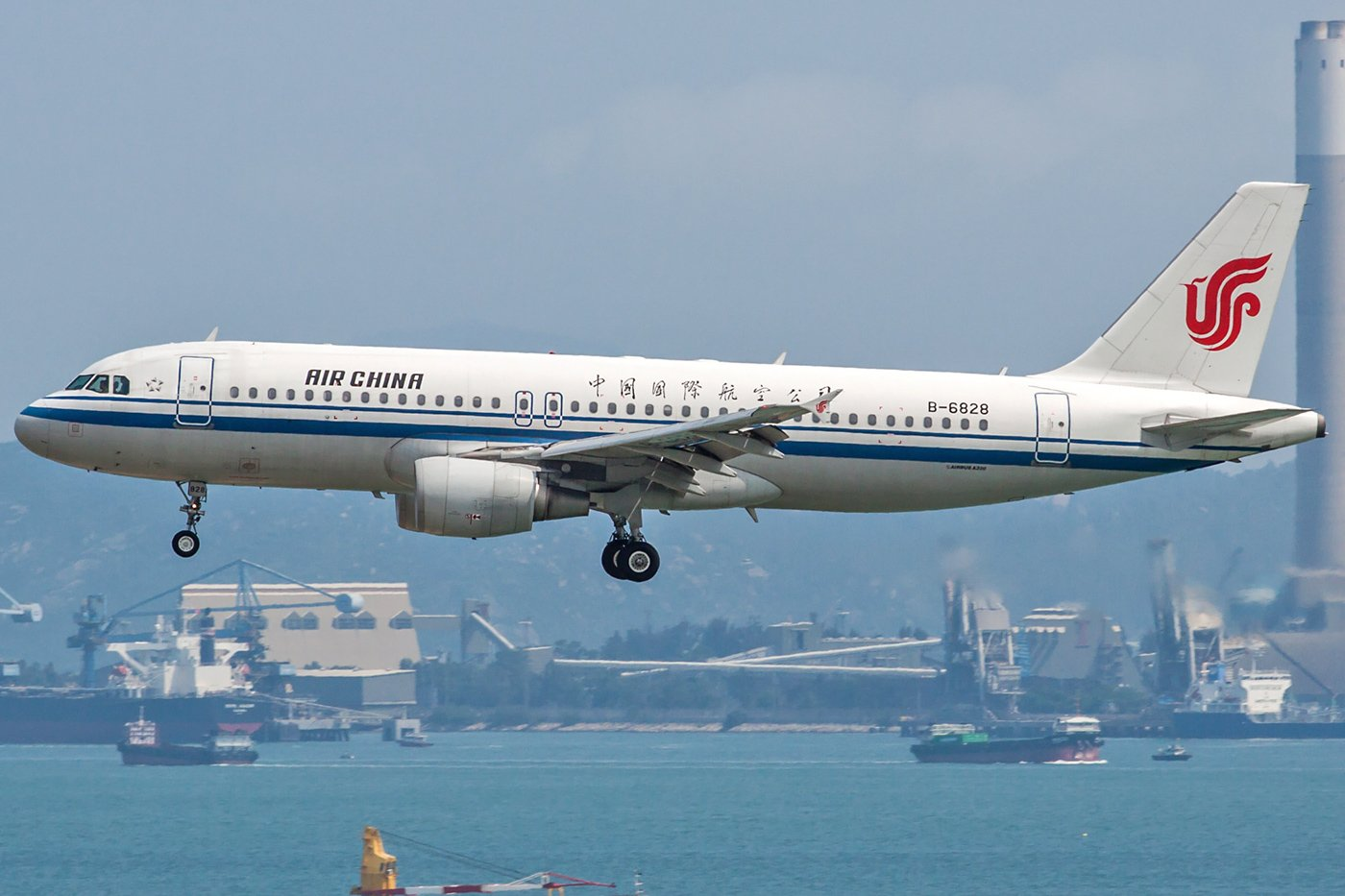 Air China Airbus A320-214 B-6828