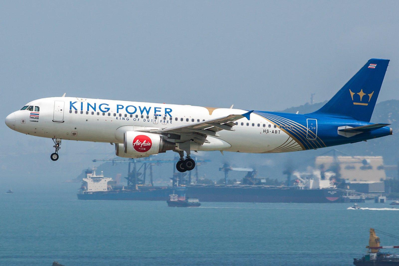 Thai AirAsia Airbus A320-216 HS-ABT
