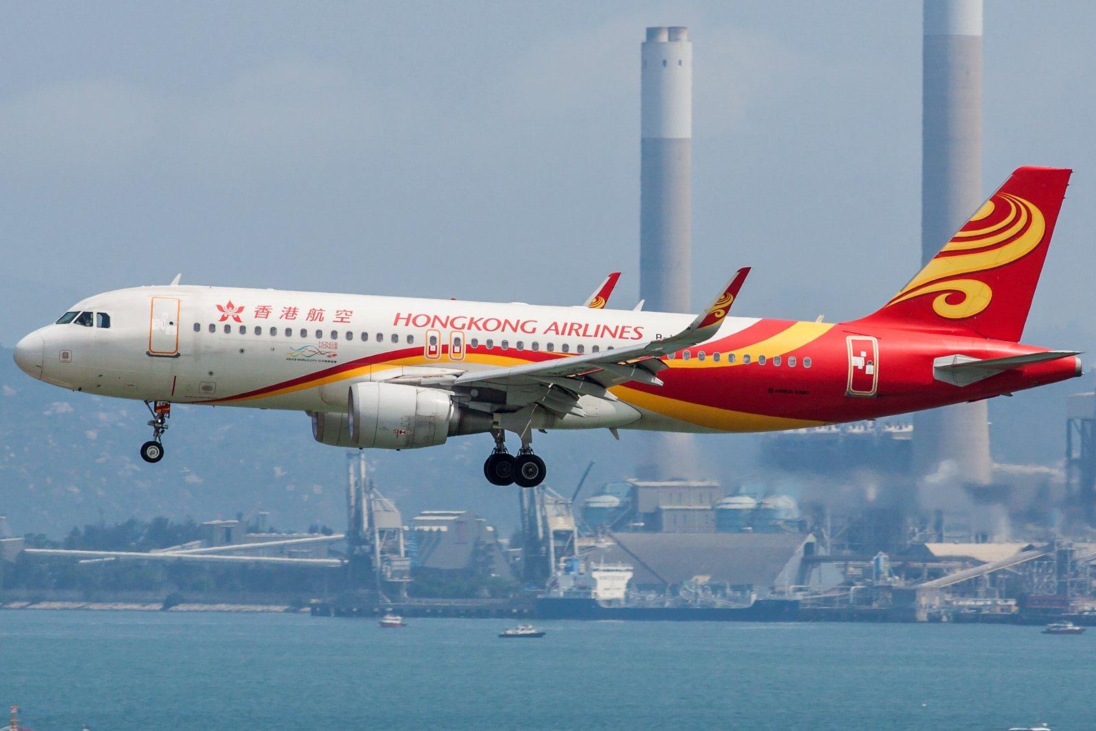 Hong Kong Airlines Airbus A320-214(WL) B-LPM