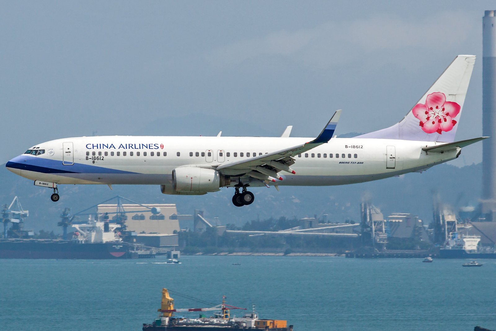 China Airlines Boeing 737-809(WL) B-18612