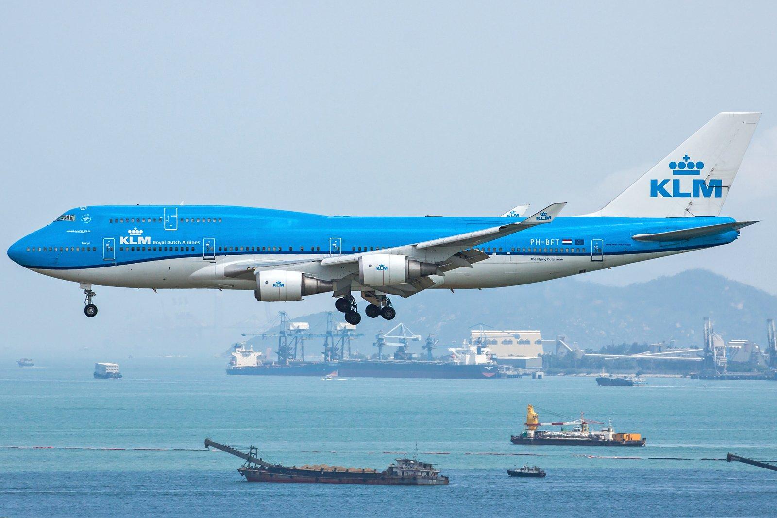 KLM Royal Dutch Airlines Boeing 747-406(M) PH-BFT
