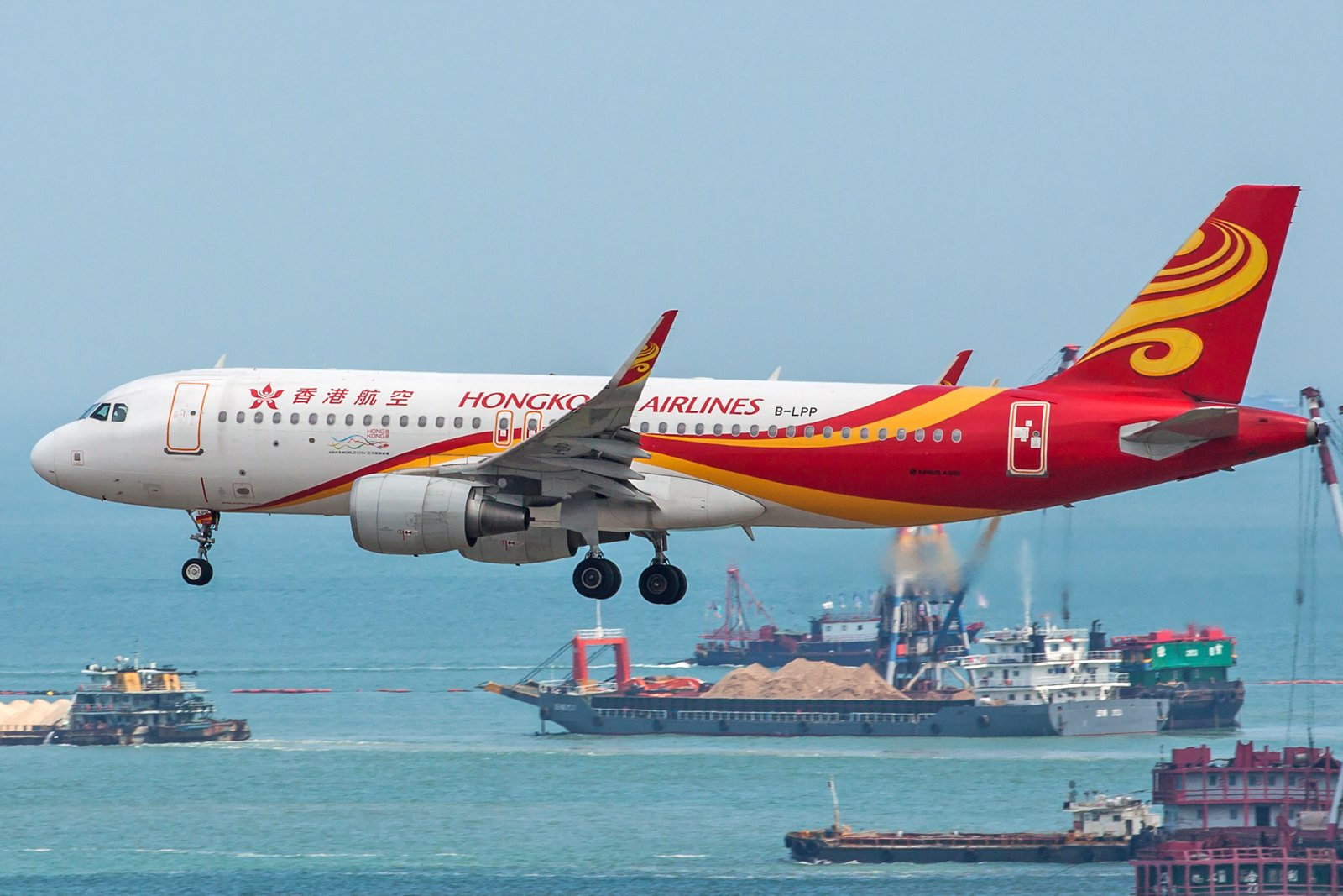 Hong Kong Airlines Airbus A320-214(WL) B-LPP