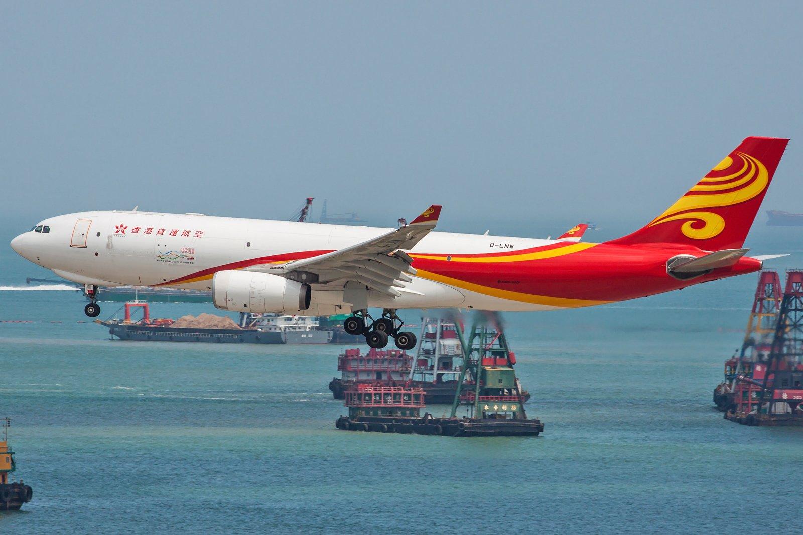 Hong Kong Air Cargo Airbus A330-243F B-LNW
