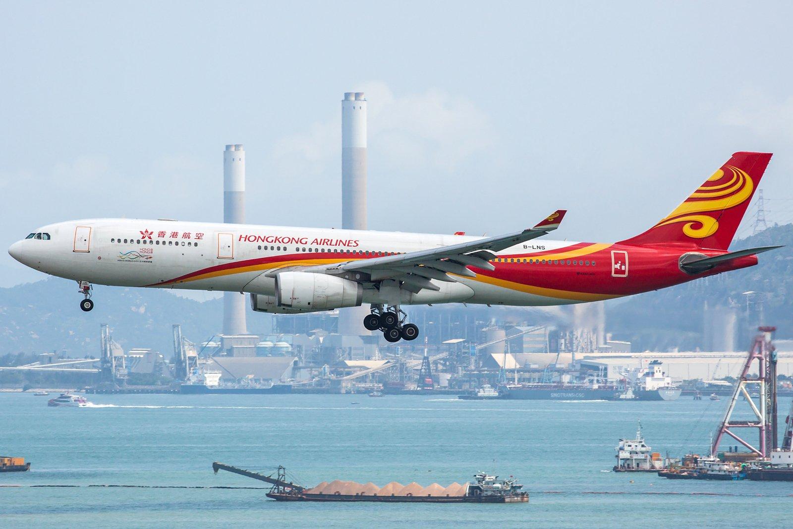 Hong Kong Airlines Airbus A330-343 B-LNS