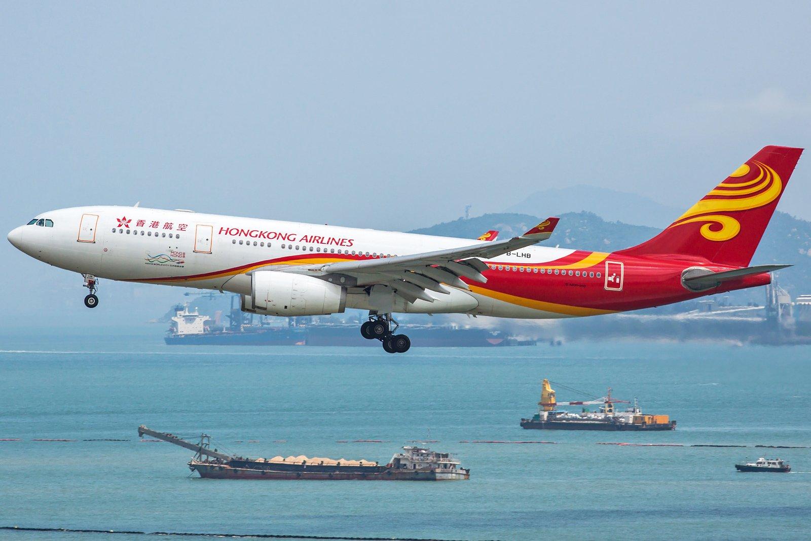 Hong Kong Airlines Airbus A330-243 B-LHB