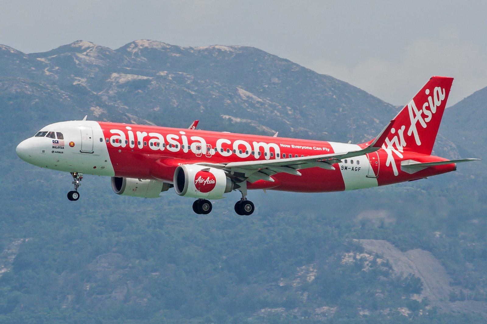 AirAsia Airbus A320-251N 9M-AGF