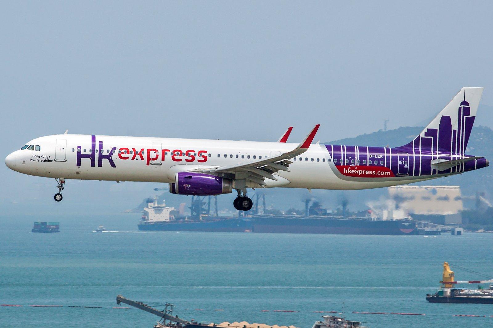 Hong Kong Express Airbus A321-231(WL) B-LEK