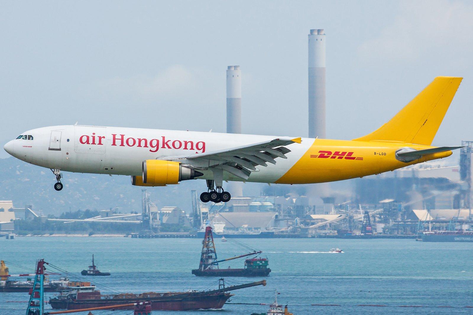 Air Hong Kong Airbus A300F4-605R B-LDD