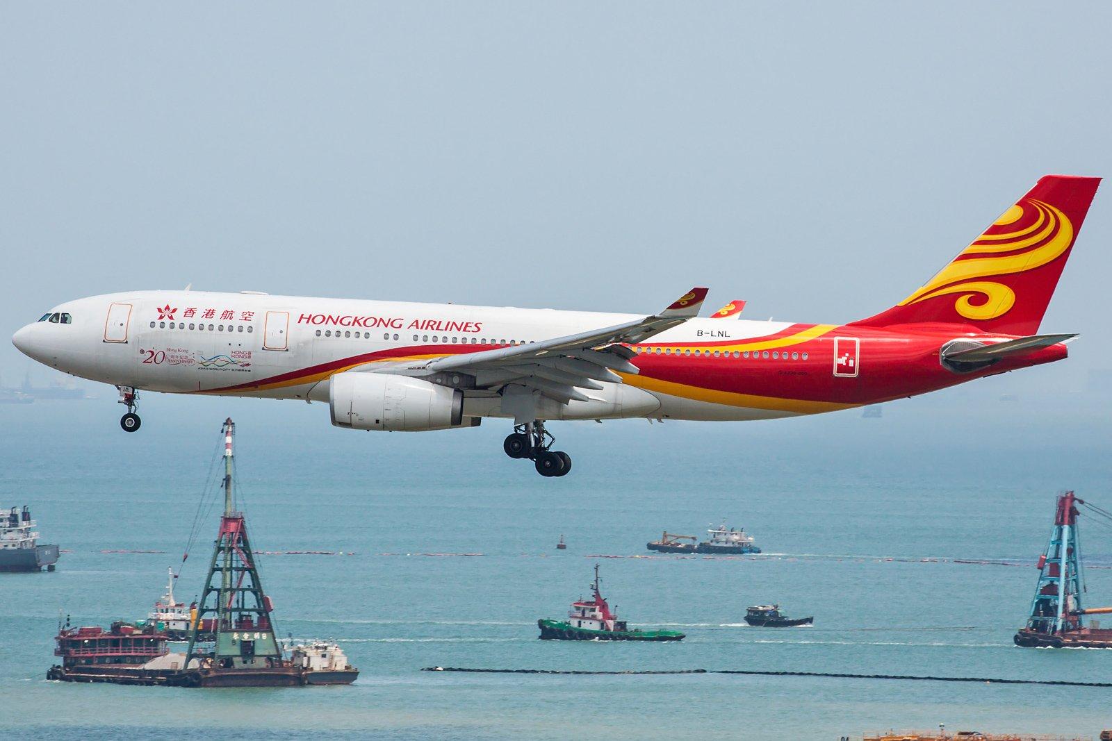 Hong Kong Airlines Airbus A330-243 B-LNL