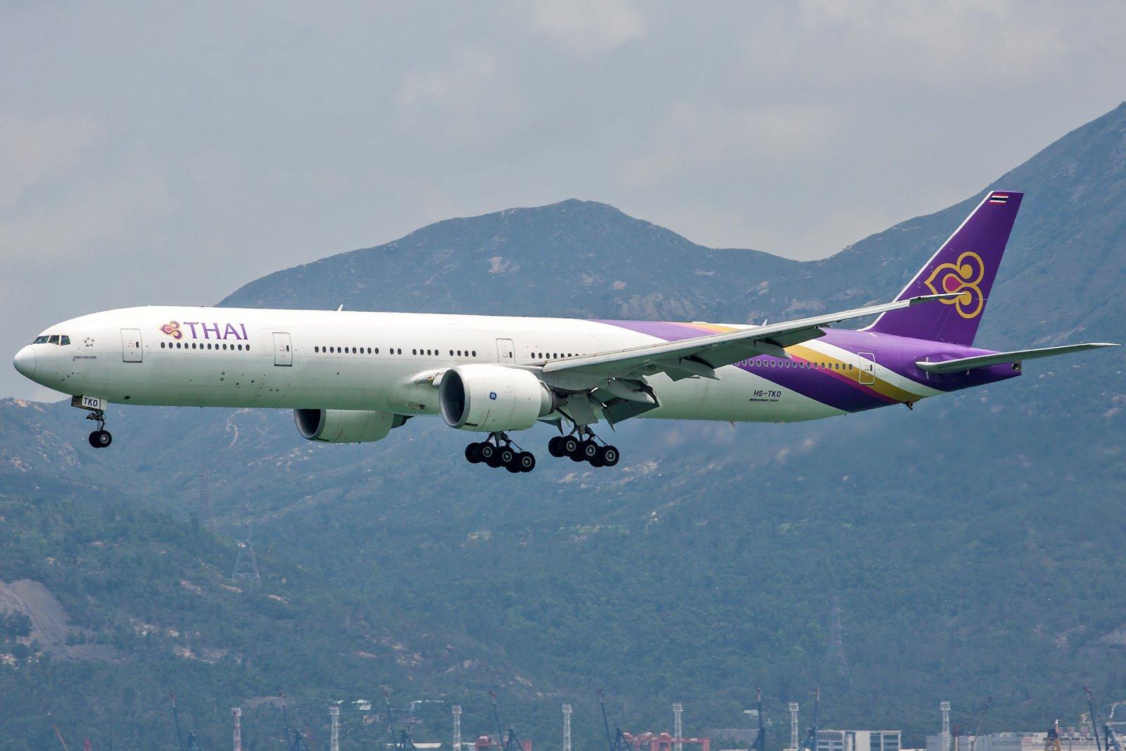 Thai Airways International Boeing 777-3AL(ER) HS-TKO