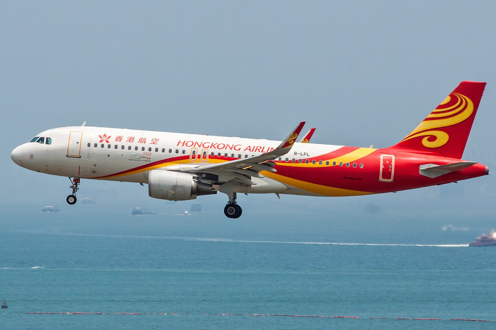 Hong Kong Airlines Airbus A320-214(WL) B-LPL