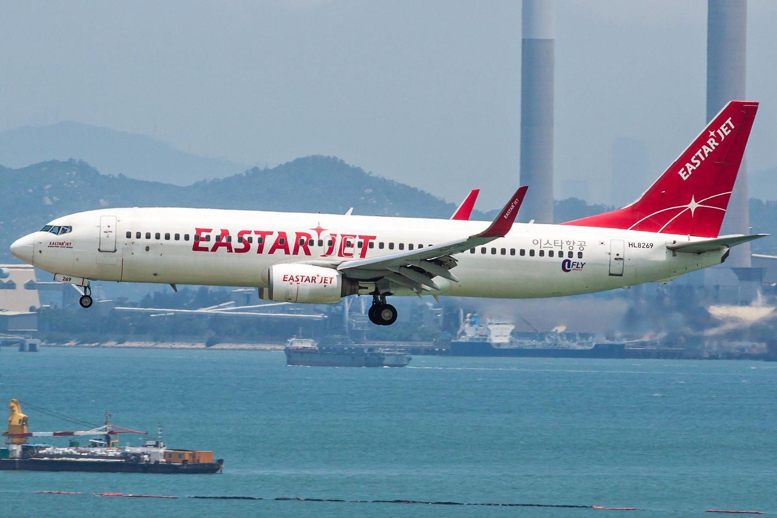 Eastar Jet Boeing 737-8Q8(WL) HL8269
