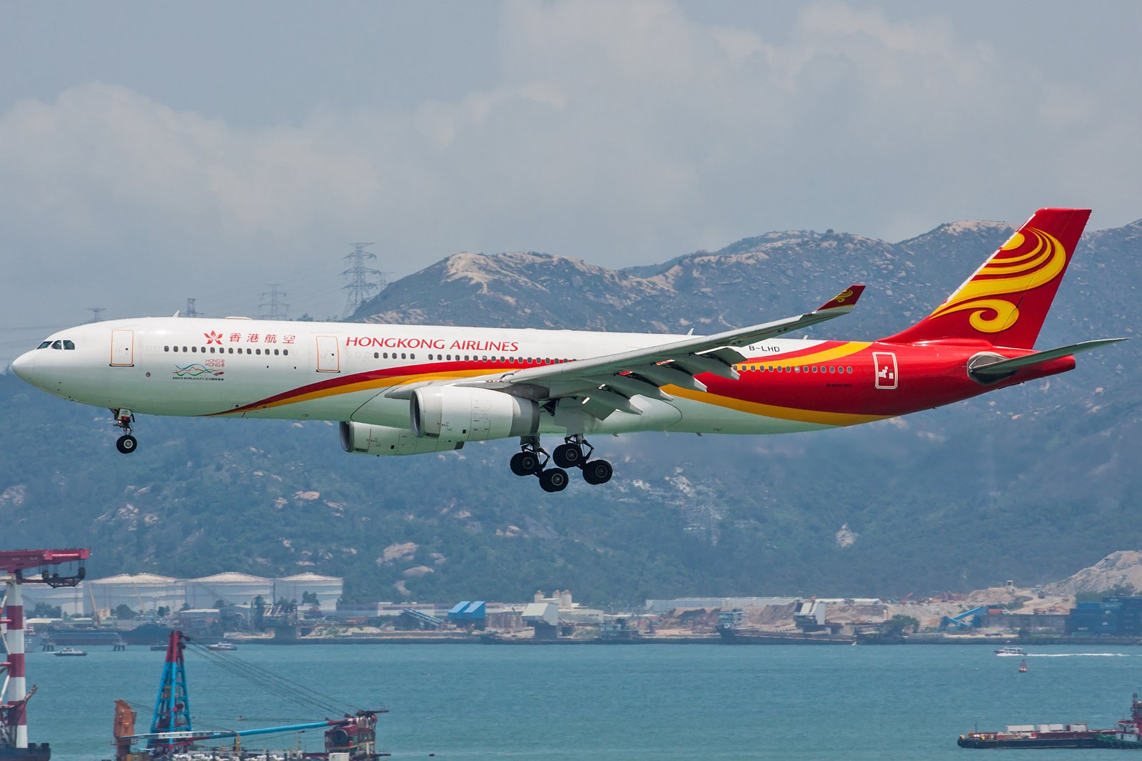 Hong Kong Airlines Airbus A330-343 B-LHD