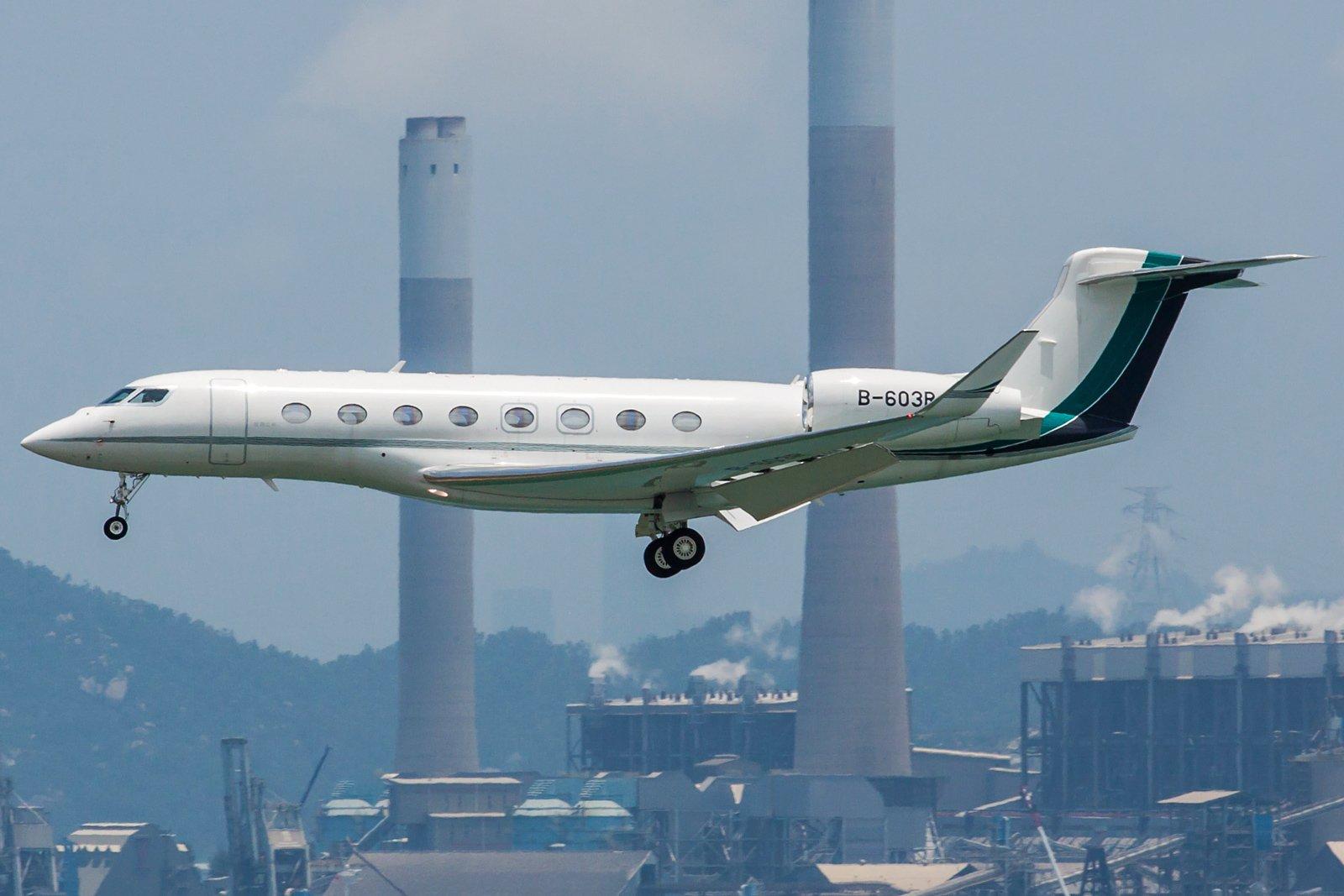 Deerjet Gulfstream G650ER B-603R