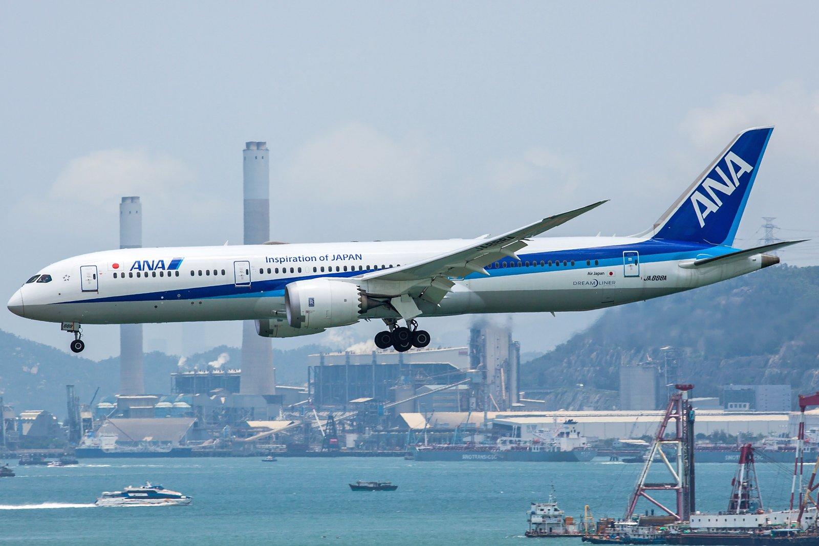 All Nippon Airways Boeing 787-9 Dreamliner JA888A