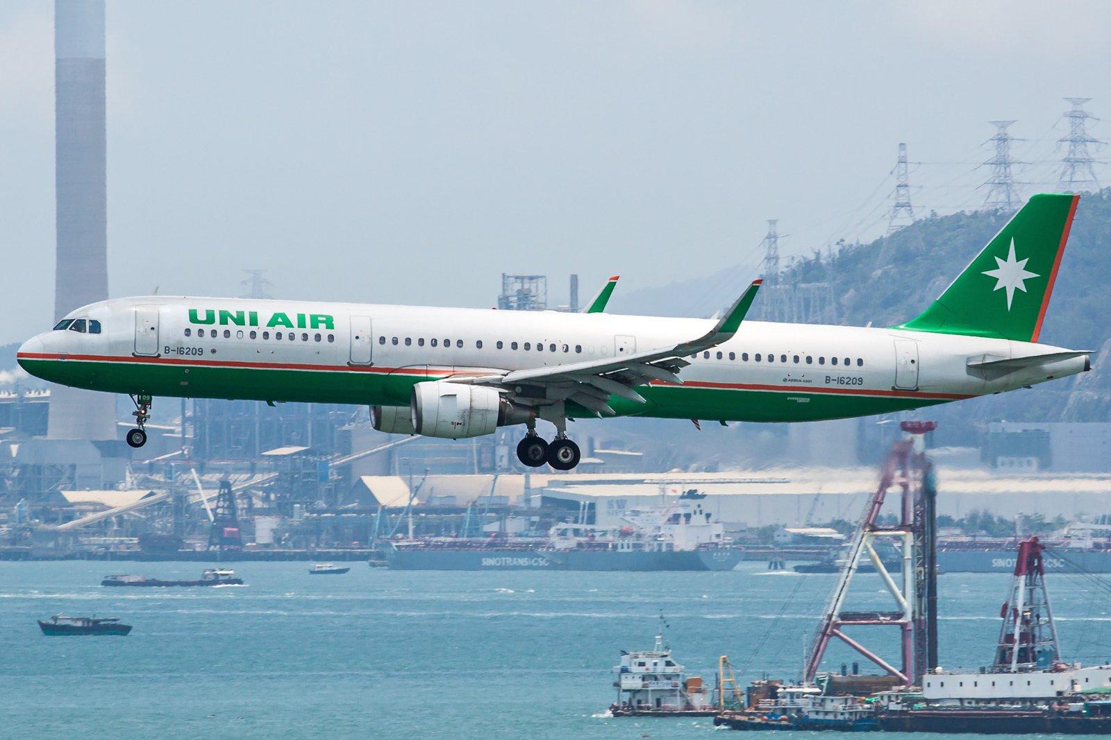 UNI Airways Airbus A321-211(WL) B-16209